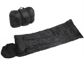Slaapzak - warm en toch compact - zwart