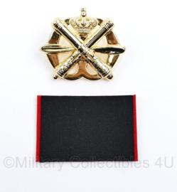 Defensie baret insigne Luchtdoelartillerie - nieuw in de verpakking - 7,5 x 5 cm - origineel