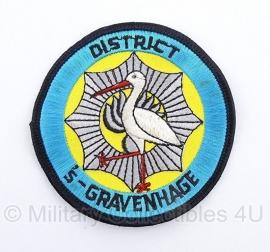 Mobiele Eenheid ME Korps Rijkspolitie district 's Gravenhage embleem - origineel