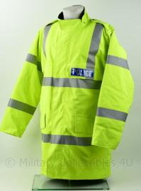 Britse Politie Police geel jack met voering - maat Large - nieuw - origineel