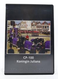 Kmar Marechausee DVD uitvaart CP-100 Koningin Juliana  - 19 x 13,5 x 1,5 cm - origineel