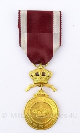 Belgische gouden medaille der kroonorde  - Origineel