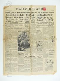 Daily Herald krant - June 5, 1945 - origineel