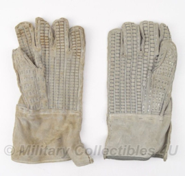Prikkeldraad handschoen Heavy Duty Barbed Wire Handler Cowhide Leather Gloves - origineel US Army