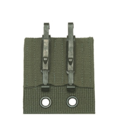 BW Bundeswehr universele koppel adapter met ALICE clips - origineel