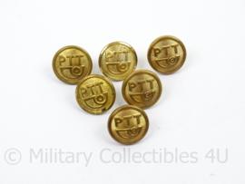 PTT Knoop - goudkleurig - doorsnede 1,6 cm - per stuk - origineel