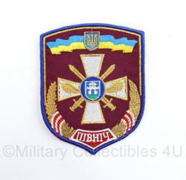 Oekraïense leger embleem Operationeel Commando Noord 13e Legerkorps - 10 x 7,5 cm - origineel