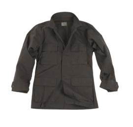 US BDU field jacket Ripstop - Zwart