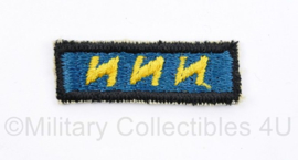 """US Army  12TH Special Forces Group beret  """"CANDY STRIPE""""  - 5 x 1,5 cm - origineel"""