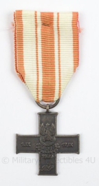 Poolse medaille 1 IX- 17 IX 1939 Cross of September Campaign 1939 - afmeting 4 x 10,5 cm - origineel