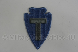 WWII US 36th Infantry Division patch - eigen aanmaak
