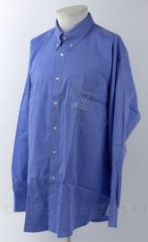 Overhemd Arriva buschaufeur - lichtblauw - lange mouw - maat 43/44 - origineel