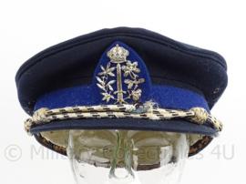 Belgische Gemeente politie pet - maker: Gilissen - maat 57 - zwaarder gebruikte staat - origineel