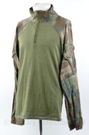 Korps Mariniers UBAC shirt Woodland Forest camo - maat Medium - gedragen maar intact - origineel