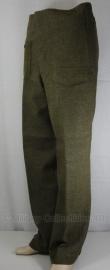 Canadese WO2 model battledress trouser - topstaat - size 13 = NL jeansmaat 38 - origineel