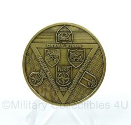 Nederlandse Defensie coin 1 GE NL Corps Exercise Kindred Sword Noble Award May 2007
