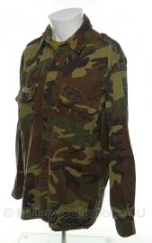Kroatische Woodland zomer uniform jas ripstop gebruikt - meerdere maten  - origineel