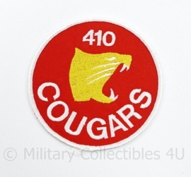 Canadese Luchtmacht 410 Cougars embleem 410 Tactical Fighter Operational Trainings Squadron - diameter 8,5 cm - origineel