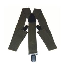 Bretel met clip bevestiging - nieuw gemaakt GROEN