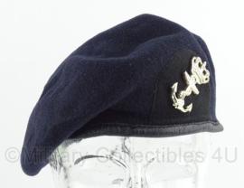 Koninklijke Marine baret   -  1998  -  maat 57  -  origineel