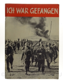 WO2 Duits Ich war gefangen Tijdschrift   - origineel