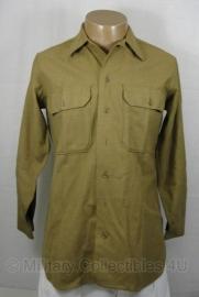 US M1937 overhemd / blouse - maat 15,5 - 33 - origineel WO2