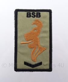 Nederlands Brigade Speciale Beveiligingsopdrachten (BSB) embleem met klittenband - 5 x 8,5 cm