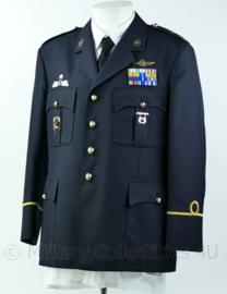 Zeldzaam korps mariniers Barathea uniform met zeer veel insignes  Maat 43-4 blouse, jas 54k - origineel