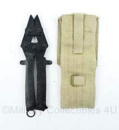 Britse wire cutter draadkniptang met tas - replica