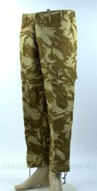 Korps Mariniers DPM desert CAMO broek - proefmodel  - zeldzaam - maat 7080 / 8090 - ongedragen - origineel