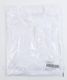 Defensie en Korps Mariniers T-shirt wit MNSN - nieuw in verpakking - maat L - origineel