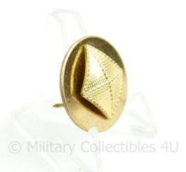 US Army enlisted collar disc Finance Corps - diameter 25,43 mm - origineel