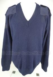 Nederlandse oud model politie trui zonder patch - V Hals - meerdere maten - origineel