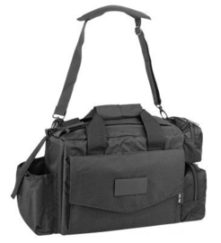 Security en politie tactical bag - multifunctioneel  - 45 x 22 x 30,5 cm - zwart