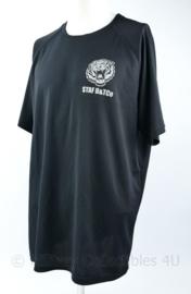 Defensie Staf B en Tco Bevoorrading en Transport shirt zwart  -  NIEUW - maat XXL - origineel