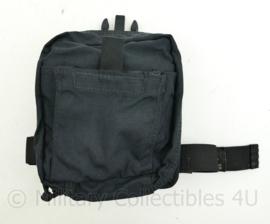 Defensie en US Army medische beentas NAR operator BLS IFAK bag black - 21 x 19 x 8 cm - origineel