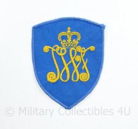 Defensie JWF Regiment Johan Willem Friso embleem - 9 x 7 cm - origineel
