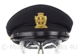 Italiaanse politie pet - Milano - maat 58 - maker: Melampo Milaan - origineel