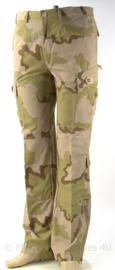 KL Landmacht desert camo broek - zeldzaam proefmodel - ongedragen - maat 7585/9000 - origineel