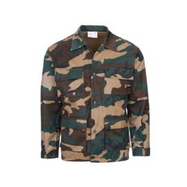 KINDER Woodland camo uniform jasje  - nieuw gemaakt