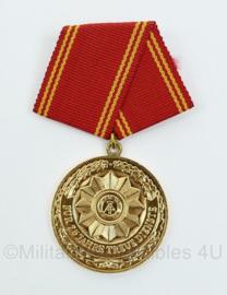 DDR medaille fur 25 jahre treue dienste - 7,5 x 3,5 cm - origineel