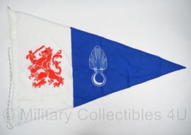KMAR Koninklijke Marechaussee patrouilleboot vlag  -  zeldzaam  -  75 x 100  -  origineel