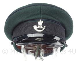 Britse Light Infantry visor cap met insigne - met Egypt insigne - maat 57 -  origineel