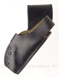 Nederlandse Politie holster - merk GK Pro - zwart leer - origineel