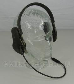WWII US Navy USN H-16-U MX-240/U & MX-239/U Radio Headset Headphones
