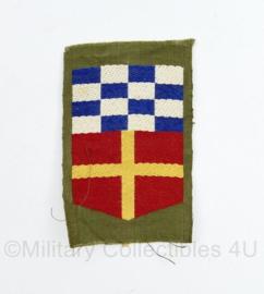 Natres Korps Nationale Reserve eenheid embleem vorig model -  6,5 x 4 cm - origineel