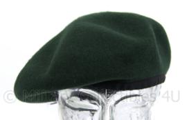 Brits model baret - groen - maat 56 - nieuw - origineel