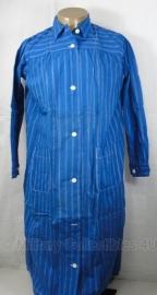 Patienten hemd donkerblauw en wit gestreept - origineel