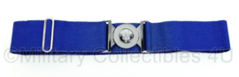 Britse Leger SAS stable belt blauw - 100 x 6,6 x 0,2 cm - zeldzaam - origineel