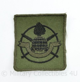 KCT Korps Commandotroepen borst embleem GVT - ZELDZAAM - 5 x 4,5 cm -  origineel